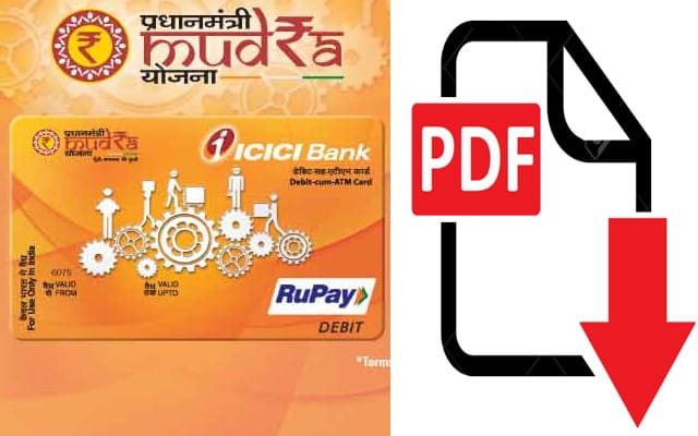 Documents require for mudra loan