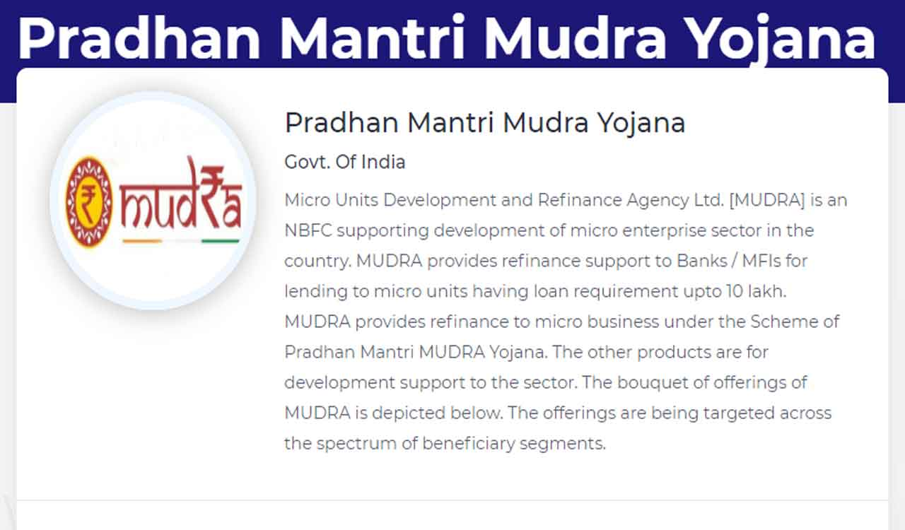 mudra loan application form