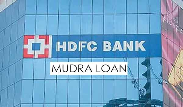 HDFC Bank Mudra Loan